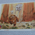 Star Wars Galaxy 1993 Topps #40 Ewoks Trading card (1)